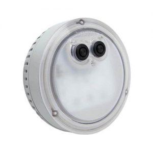 Intex LED sfeerverlichting voor PureSpa bubble massage - Met de Intex PureSpa multi-collor LED verlichting creëer je de perfectie sfeer en ambiance om optimaal te kunnen ontspannen en relaxen in jouw PureSpa bubble massage.De speciale onderwater LED lamp kun je vast monteren in de PureSpa bubble massage en schroef je vast op de bovenste uitlaatrooster van de spa.De PureSpa LED verlichting heeft verschillende verlichtingsmodi